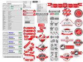 Fragmentos de la etiqueta venta web — Vector de stock