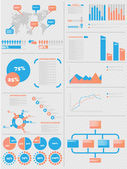 INFOGRAPHIC DEMOGRAPHICS 5 — Stock Vector