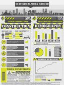 INFOGRAPHIC WORK — Stockvector