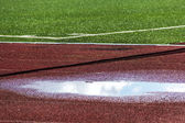 Running tracks — Stock Photo