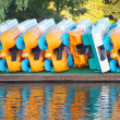 Stock Photo: Paddle Boats