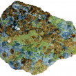 Stock Photo: Skarn consisting of garnet, pyroxene, and calcite