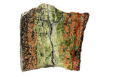Hydrothermal epidote vein in granite — Stock Photo