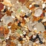 Glass sand from Kauai — Stock Photo