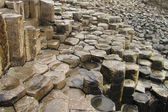 Giant's Causeway columnar basalt — Stock Photo