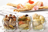 Mediterranean alimentation — Stock Photo