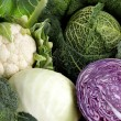 Fresh cabbage mixed vegetables — Stock Photo #11849445
