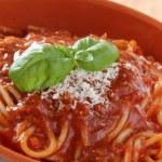 Spaghetti alla bolognese — Stock Photo #11859768