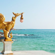 dragon statue in hua hin, thailand — Stock Photo