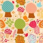 Autumn seamless pattern — Stock Vector #11962737