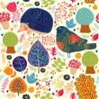 Autumn seamless pattern — Stock Vector #11963437
