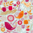 Seamless floral pattern — Stock Vector #11963701