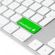 Computer keyboard with green download button — Stock Photo #11807802