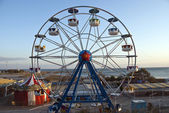 Roller wheel in beach — Stock Photo
