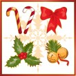 Stock Vector: Christmas symbols