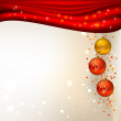 Background with Christmas balls — Stock Vector #11918153