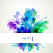 Abstract background with blue, pink and green elements — Stock Vector