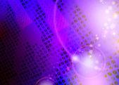 Violett abstrakt bakgrund texturerat av trianglar — Stockvektor