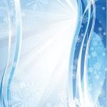 Blue shiny christmas background — Stock Vector #11948980