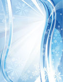 Blue shiny christmas background — Stock Vector