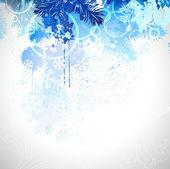 Composición de invierno — Vector de stock