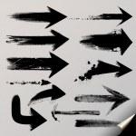 A vector set of useful arrows. — Stock Vector #11950709