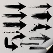A vector set of useful arrows. — Stock Vector