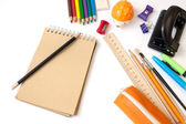 School stationery — Stock Photo