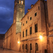 Old town at night, Dubrovnik, Croatia — Stock Photo #11819335