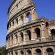 Stock Photo: Colosseum of Rome with blue sky, Italy