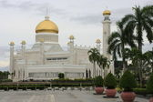 Sultan Omar Ali Saifudding Mosque, Bandar Seri Begawan, Brunei, Southeast Asia — Stock Photo