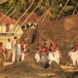 图库照片: Wedding on beach, Sri Lanka