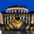 Budapest, National theater — Stock Photo