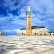 The II Hassan mosque in Casablanca - ストック写真