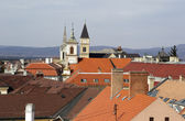 The panorama of Veszprem city, Hungary — Stock Photo