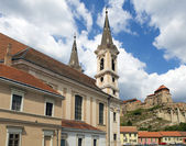 HDR view of Esztergom city, Hungary — Stock Photo