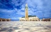 第二在卡萨布兰卡哈桑清真寺 — 图库照片