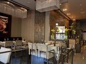 Moderno ristorante interno — Foto Stock