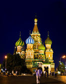 Saint Basil's cathedral, Moscow — Stock Photo