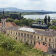 View of Esztergom city — Stock Photo