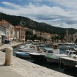 Stock Photo: Hvar harbor, Croatia
