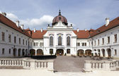 The Grassalkovich palace in Gödöllö, near Budapest — Stock Photo