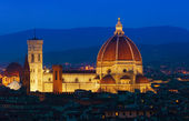 Florence sunset — Stock Photo