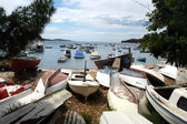 Boats on the dock — Stock Photo