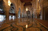 Inside of the Hassan II Mosque — Stock Photo