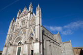 The Cathedral in Orvieto, Italy — Stock Photo