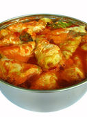 Cabbage rolls in a pan from the side — Stock Photo