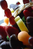 Edible Arrangements closeup — Stock Photo