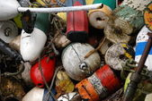 Buoys in a Pile — Stock Photo