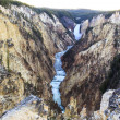 Grand Canyon at Yellowstone — Stock Photo
